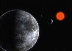 Première découverte d'une planète habitable hors du système Superterre
